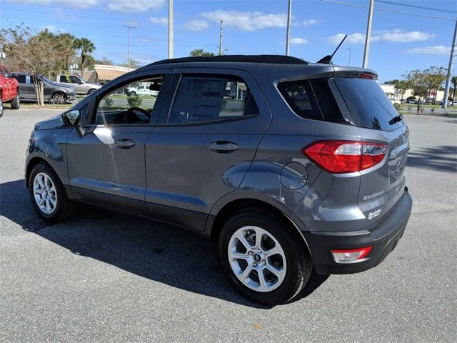 2020 Smoke Metallic Ford EcoSport SE FWD Intercooled Turbo Regular Unleaded I-3 1.0 L/61 Engine SUV 4 Door Automatic