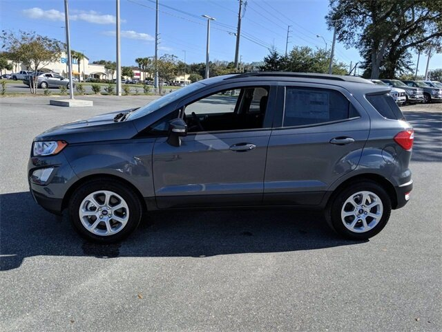 2020 Smoke Metallic Ford EcoSport SE Automatic SUV Intercooled Turbo Regular Unleaded I-3 1.0 L/61 Engine FWD 4 Door
