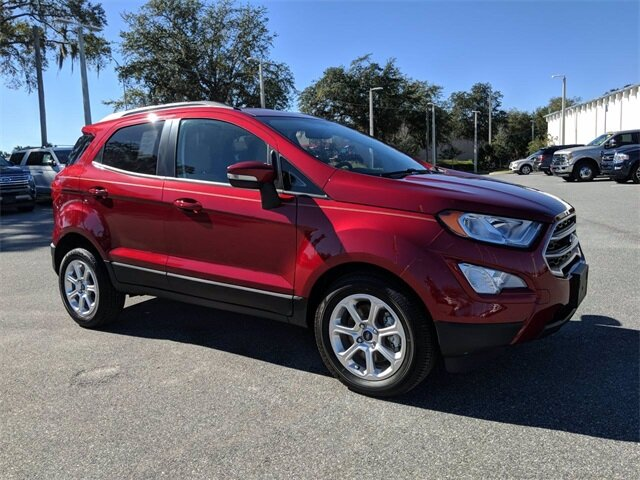 2020 Ford EcoSport SE Automatic SUV 4 Door EcoBoost 1.0L I3 GTDi DOHC Turbocharged VCT Engine FWD