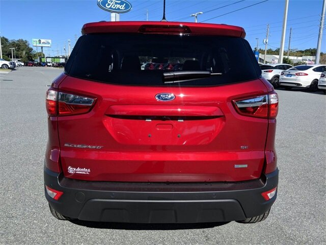 2020 Ford EcoSport SE SUV EcoBoost 1.0L I3 GTDi DOHC Turbocharged VCT Engine FWD 4 Door