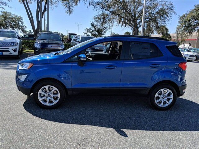 2020 Ford EcoSport SE EcoBoost 1.0L I3 GTDi DOHC Turbocharged VCT Engine FWD Automatic SUV
