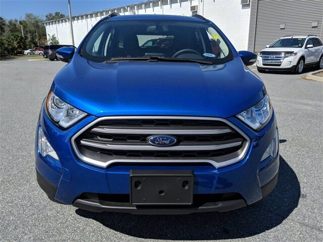 2020 Ford EcoSport SE 4 Door Automatic FWD SUV EcoBoost 1.0L I3 GTDi DOHC Turbocharged VCT Engine