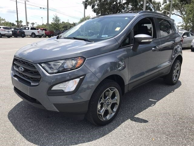 2018 Smoke Metallic Ford EcoSport SES Regular Unleaded I-4 Engine 4 Door AWD SUV
