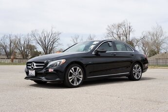 2018 Black Mercedes-Benz C-Class C 350e 2.0L I4 Turbocharged Engine 4 Door Car RWD