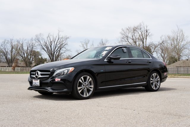 2018 Black Mercedes-Benz C-Class C 350e Car 4 Door Automatic 2.0L I4 Turbocharged Engine RWD