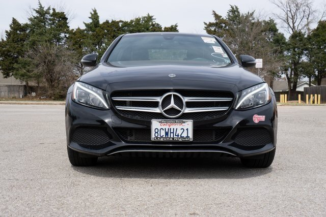 2018 Black Mercedes-Benz C-Class C 350e 4 Door RWD 2.0L I4 Turbocharged Engine Automatic Car