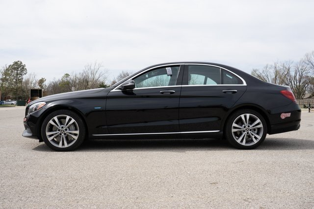2018 Black Mercedes-Benz C-Class C 350e 4 Door 2.0L I4 Turbocharged Engine RWD Automatic Car