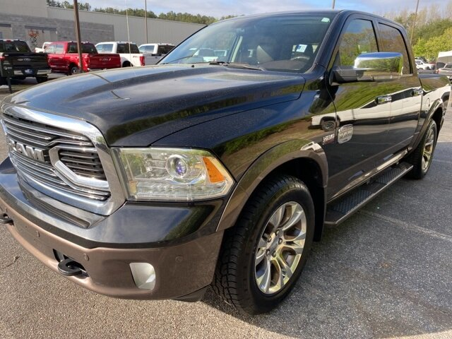 2018 Ram 1500 Laramie Longhorn 4 Door Automatic Truck HEMI 5.7L V8 Multi Displacement VVT Engine 4X4