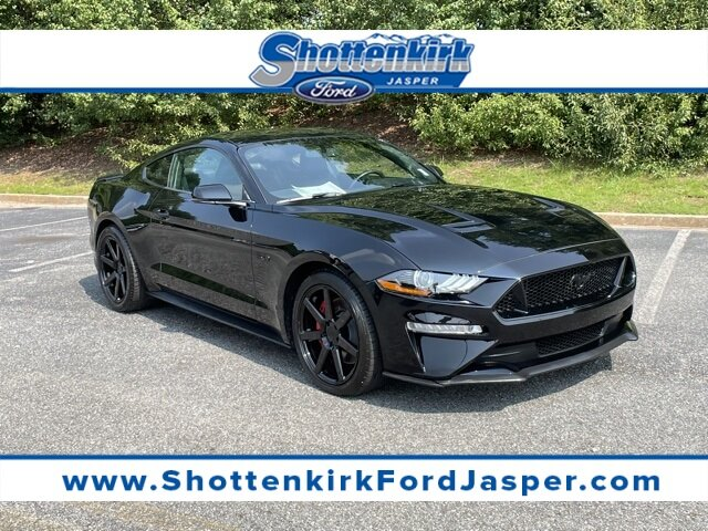 2019 Shadow Black Ford Mustang GT Premium Manual RWD 2 Door Coupe 5.0L V8 Ti-VCT Engine