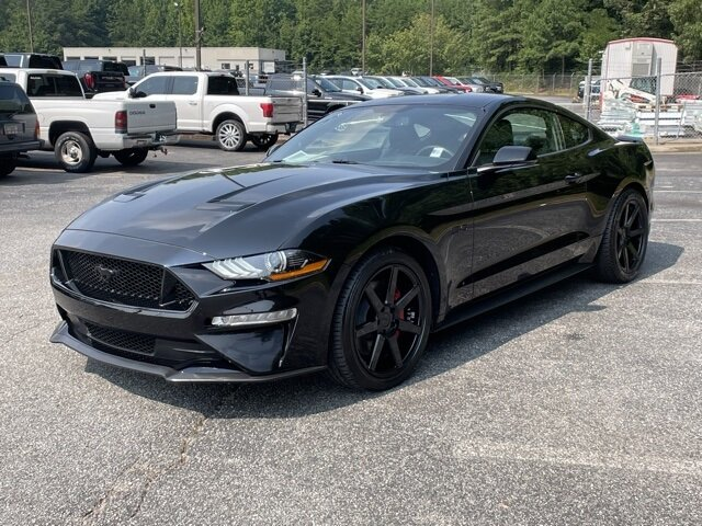 2019 Shadow Black Ford Mustang GT Premium Coupe Manual RWD