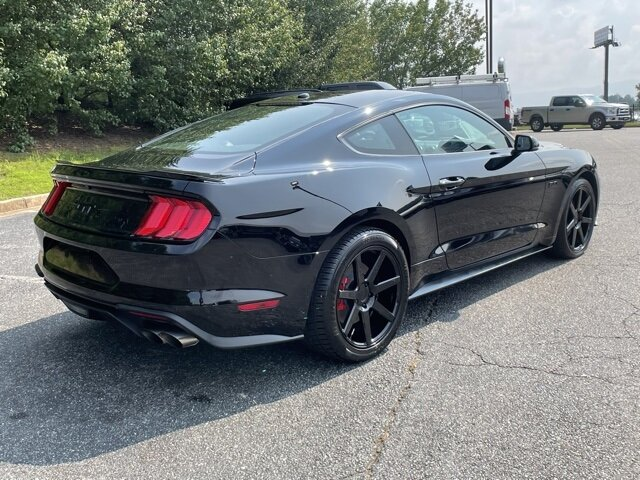 2019 Shadow Black Ford Mustang GT Premium RWD 5.0L V8 Ti-VCT Engine Coupe