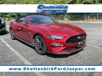 2020 Rapid Red Metallic Tinted Clearcoat Ford Mustang GT Premium Convertible RWD 5.0L V8 Ti-VCT Engine 2 Door