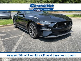 2019 Ford Mustang EcoBoost Premium Automatic RWD EcoBoost 2.3L I4 GTDi DOHC Turbocharged VCT Engine Convertible