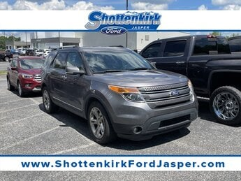 2014 Ford Explorer Limited Automatic FWD 3.5L 6-Cylinder SMPI DOHC Engine SUV