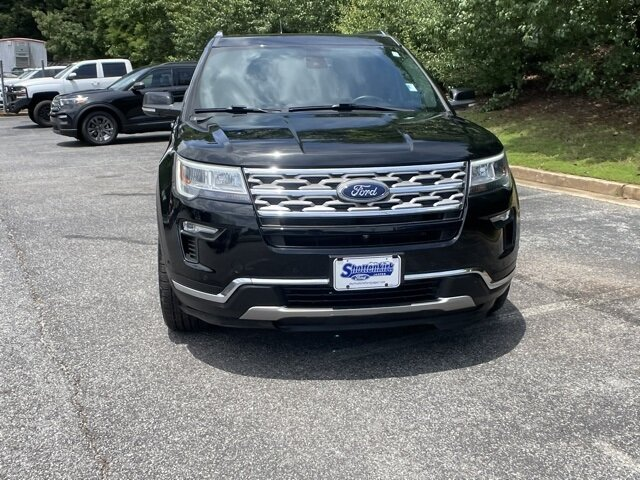 2018 Shadow Black Ford Explorer Limited 4X4 3.5L V6 Ti-VCT Engine SUV Automatic