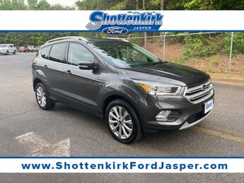 2018 Ford Escape Titanium EcoBoost 2.0L I4 GTDi DOHC Turbocharged VCT Engine Automatic 4X4
