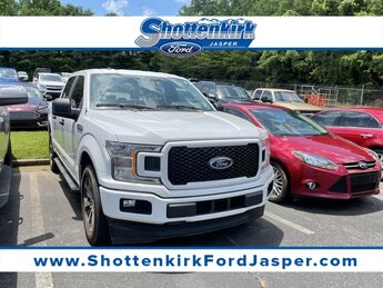 2019 Oxford White Ford F-150 XL 4 Door RWD EcoBoost 2.7L V6 GTDi DOHC 24V Twin Turbocharged Engine