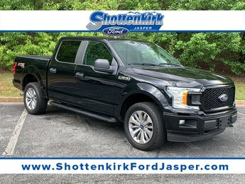 2018 Shadow Black Ford F-150 XL 4X4 Truck 5.0L V8 Engine 4 Door