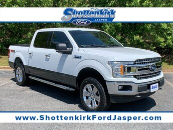 2018 Oxford White Ford F-150 XLT 4 Door 3.5L V6 Engine Automatic