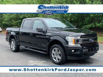 2018 Shadow Black Ford F-150 XLT 2.7L V6 EcoBoost Engine 4X4 4 Door Automatic Truck
