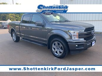 2018 Magnetic Metallic Ford F-150 Lariat 4 Door 3.5L V6 Engine Truck Automatic