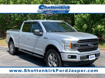 2018 Ingot Silver Metallic Ford F-150 XLT 3.5L V6 Engine Automatic 4 Door 4X4 Truck