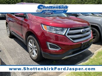 2016 Ruby Red Metallic Tinted Clearcoat Ford Edge SEL 3.5L V6 Ti-VCT Engine SUV 4 Door