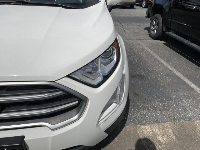 2018 Ford EcoSport SE Automatic EcoBoost 1.0L I3 GTDi DOHC Turbocharged VCT Engine FWD 4 Door
