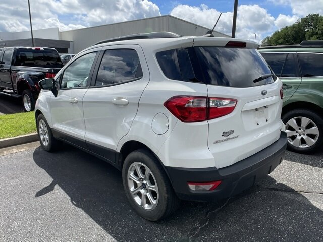 2018 Ford EcoSport SE EcoBoost 1.0L I3 GTDi DOHC Turbocharged VCT Engine SUV Automatic FWD