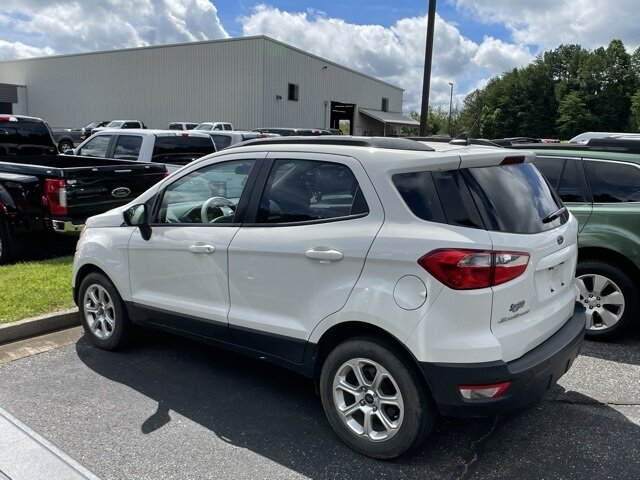 2018 Ford EcoSport SE 4 Door FWD SUV Automatic EcoBoost 1.0L I3 GTDi DOHC Turbocharged VCT Engine