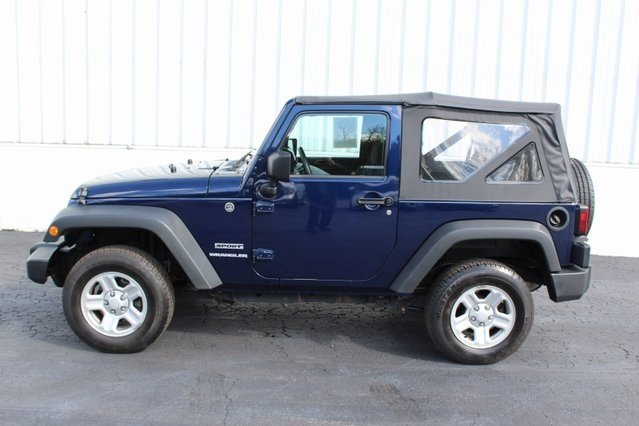2013 Jeep Wrangler Sport 2 Door Manual SUV