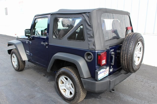 2013 Jeep Wrangler Sport 2 Door 4X4 3.6L V6 24V VVT Engine
