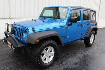 2015 Jeep Wrangler Sport Manual 4 Door 3.6L V6 24V VVT Engine