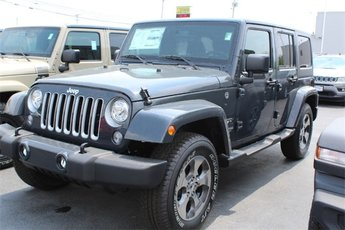 2018 Rhino Clearcoat Jeep Wrangler JK Sahara 3.6L 6-Cylinder Engine SUV Automatic 4 Door 4X4