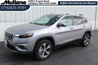 2019 Jeep Cherokee Limited 4 Door 2.0L I4 DOHC Engine 4X4