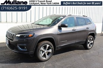 2019 Jeep Cherokee Limited 2.0L I4 DOHC Engine Automatic 4X4 SUV