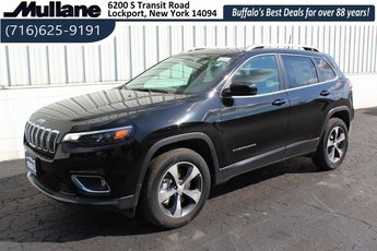 2019 Diamond Black Crystal Pearlcoat Jeep Cherokee Limited SUV 2.0L I4 DOHC Engine 4 Door 4X4 Automatic