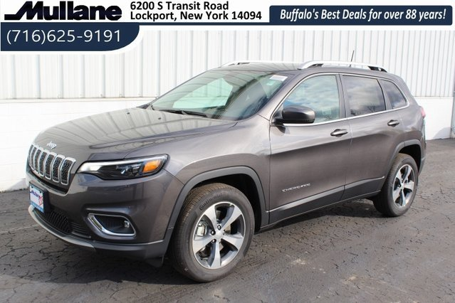 2019 Granite Crystal Metallic Clearcoat Jeep Cherokee Limited Automatic 4 Door SUV 3.2L V6 Engine 4X4