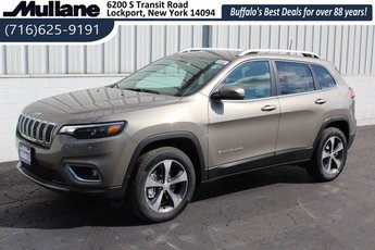2019 Light Brownstone Pearlcoat Jeep Cherokee Limited 4 Door SUV 3.2L V6 Engine Automatic