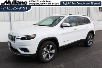 2019 Bright White Clearcoat Jeep Cherokee Limited SUV 3.2L V6 Engine Automatic 4X4 4 Door