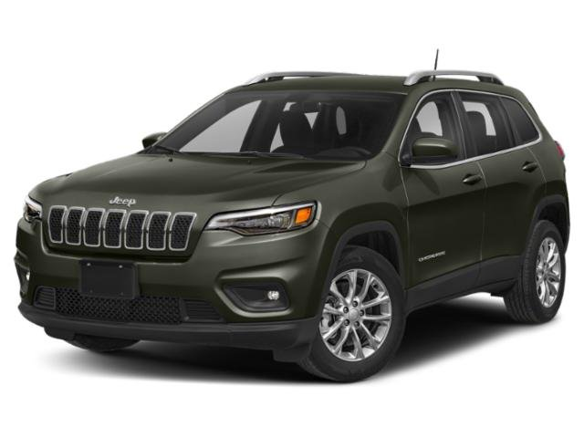2019 Olive Green Pearlcoat Jeep Cherokee Latitude Plus Automatic 4 Door 2.4L I4 Engine
