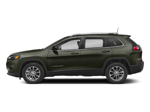 2019 Olive Green Pearlcoat Jeep Cherokee Latitude Plus 4X4 SUV Automatic 2.4L I4 Engine 4 Door