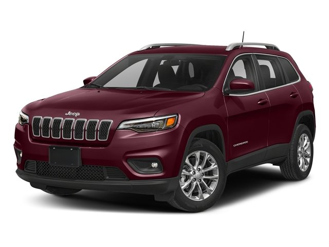 2019 Velvet Red Pearlcoat Jeep Cherokee Latitude Plus 2.4L I4 Engine SUV 4X4 4 Door