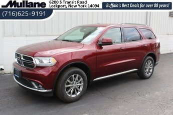 2018 Red Dodge Durango SXT SUV Automatic AWD 4 Door