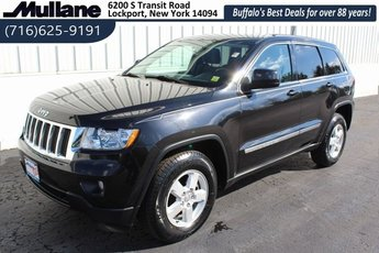 2013 Brilliant Black Crystal Pearl Jeep Grand Cherokee Laredo 4 Door 4X4 Automatic 3.6L V6 Flex Fuel 24V VVT Engine