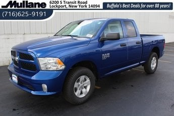 2019 Blue Streak Pearlcoat Ram 1500 Express 4X4 3.6L 6-Cylinder Flex Fuel Engine Automatic