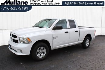 2019 Bright White Clearcoat Ram 1500 Express 4X4 Automatic 3.6L 6-Cylinder Flex Fuel Engine Truck 4 Door