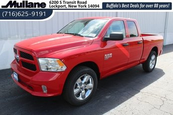 2019 Flame Red Clearcoat Ram 1500 Express 3.6L 6-Cylinder Flex Fuel Engine Automatic 4 Door
