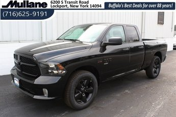 2019 Brilliant Black Crystal Pearlcoat Ram 1500 Express 5.7L 8-Cylinder Engine 4X4 Truck