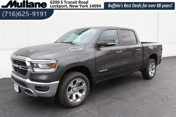 2019 Ram 1500 Big Horn HEMI 5.7L V8 Multi Displacement VVT Engine 4X4 4 Door Automatic Truck